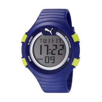 Perbandingan harga PUMA PU911281004 - Stopwatch - Jam Tangan Pria - Bahan Tali Rubber - Biru