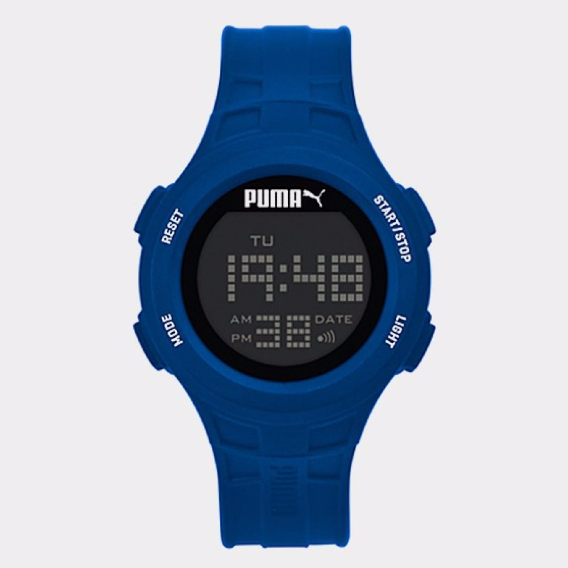 PUMA PU911301005 - Stopwatch - Light - Jam Tangan Pria - Bahan Tali .