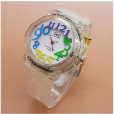 Q&Q - Jam Tangan Anak Perempuan New Limited Edition - Waterresist QQ 212 MS - Rubber