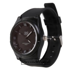 Q&Q - Jam Tangan Pria dan Wanita - Analog Watch - Hitam - Strap Rubber - VQ-255-Black