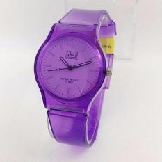 Q&Q Watch - Jam Tangan Wanita - Rubber Strap - Transparan Design - QQ099