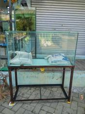 Rak Aquarium Ukuran 100 X 40Cm