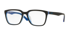 Ray-Ban Vista Optical - Rx5350D - Top Black/White/Trasp Blue (5597)  Size 54 Demo Lens