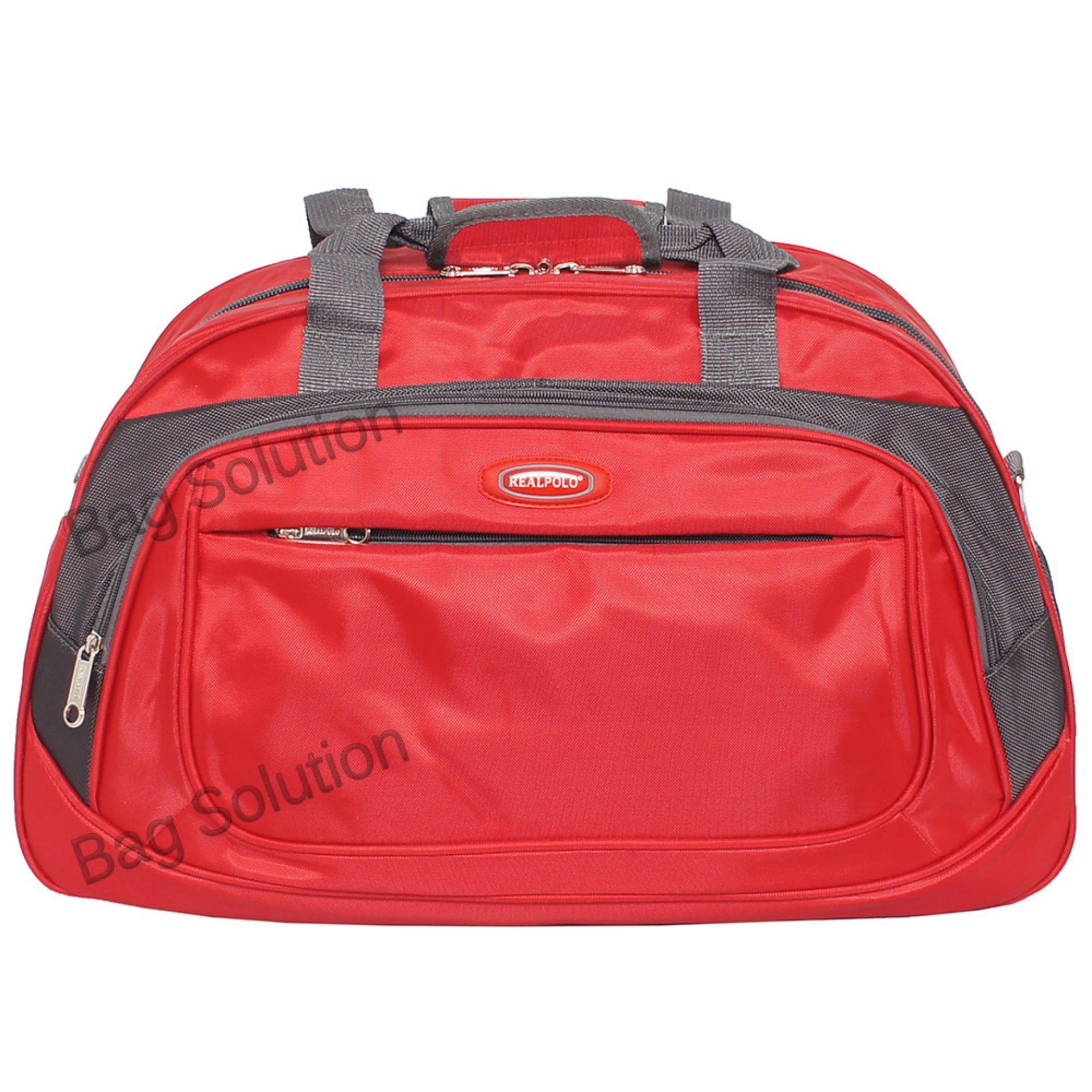 Kianuticket Airlines Penawaran Real Polo Travel Bag Duffle Hand Tas Organizer Tangan Pria Wanita Pakaian Multi Fungsi