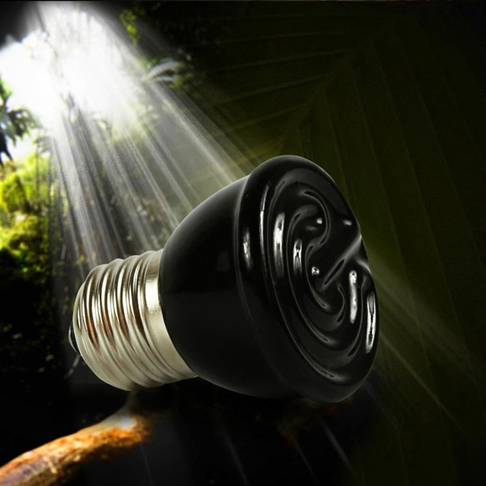REPTILE HEAT LIGHT 80W Day Night Amphibian Bird Snake Lamp Basking- intl