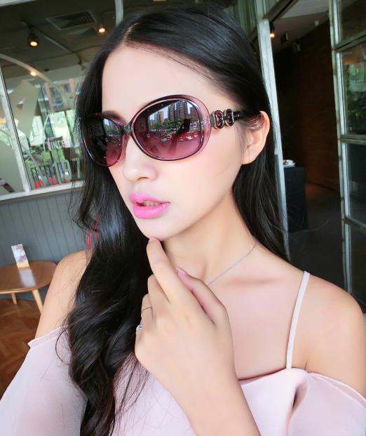 Diskon Penjualan Retro perempuan baru yang elegan hitam kacamata ... 222baf75a6