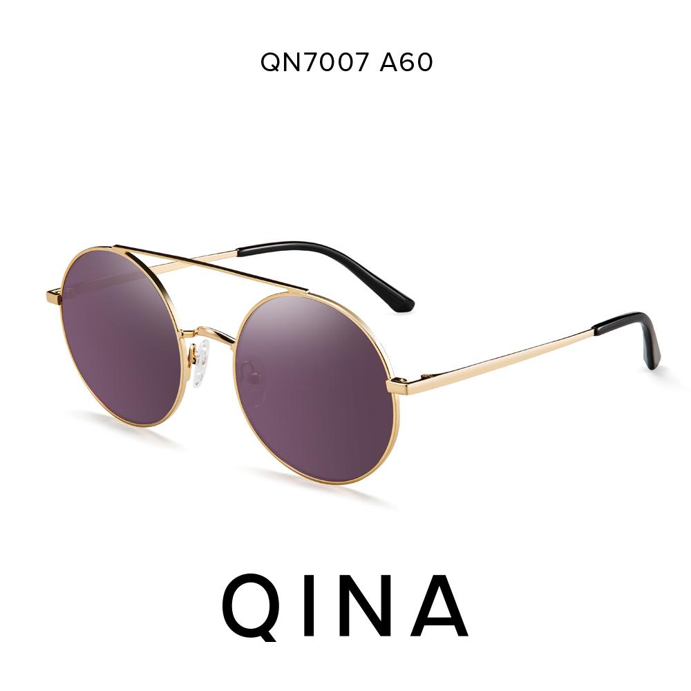 Flash Sale Retro perempuan bulat kecil bulat kotak kaca mata Sunglasses