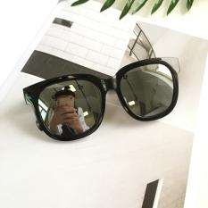 Retro Transparan Perempuan Kebesaran Kacamata Hitam Kacamata Hitam Kacamata Hitam