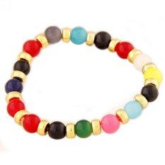 RGB4657 - Aksesoris Gelang Beads Color