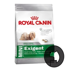 royal canin 2 kg dog mini exigent
