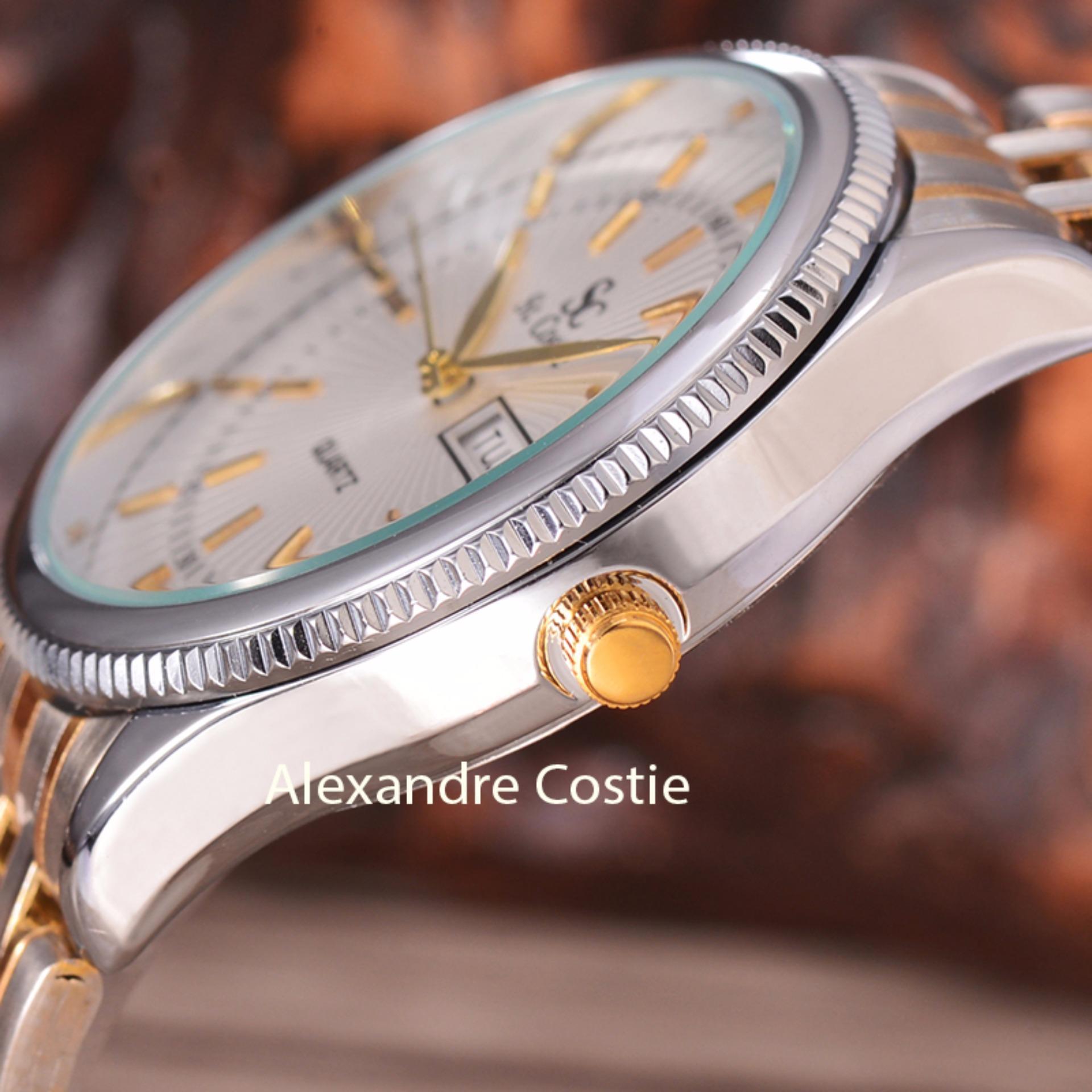 Saint Costie Original Brand, Jam Tangan Wanita - Body Silver/Gold .