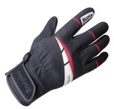 Sarung Tangan Respiro Sparx Black red Safety Biker Full Gloves