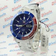 Seiko 5 Sports SRP551K1 Automatic Pepsi Bezel - Jam Tangan Pria SRP551