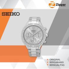 Seiko Chronograph Jam Tangan Wanita - Tali Stainless Steel - SSB899P1