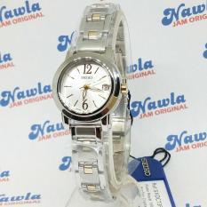 Seiko Ladies SXDC73P1 Quartz White Dial - Jam Tangan Wanita SXDC73