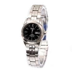 Seiko Watch Sapphire Titanium Silver Titanium Case Titanium Bracelet Ladies Japan NWT + Warranty SXA099P1