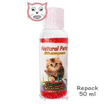 uk S + Leash Hijau Tua untuk Kucing, Kelinci, Musang,