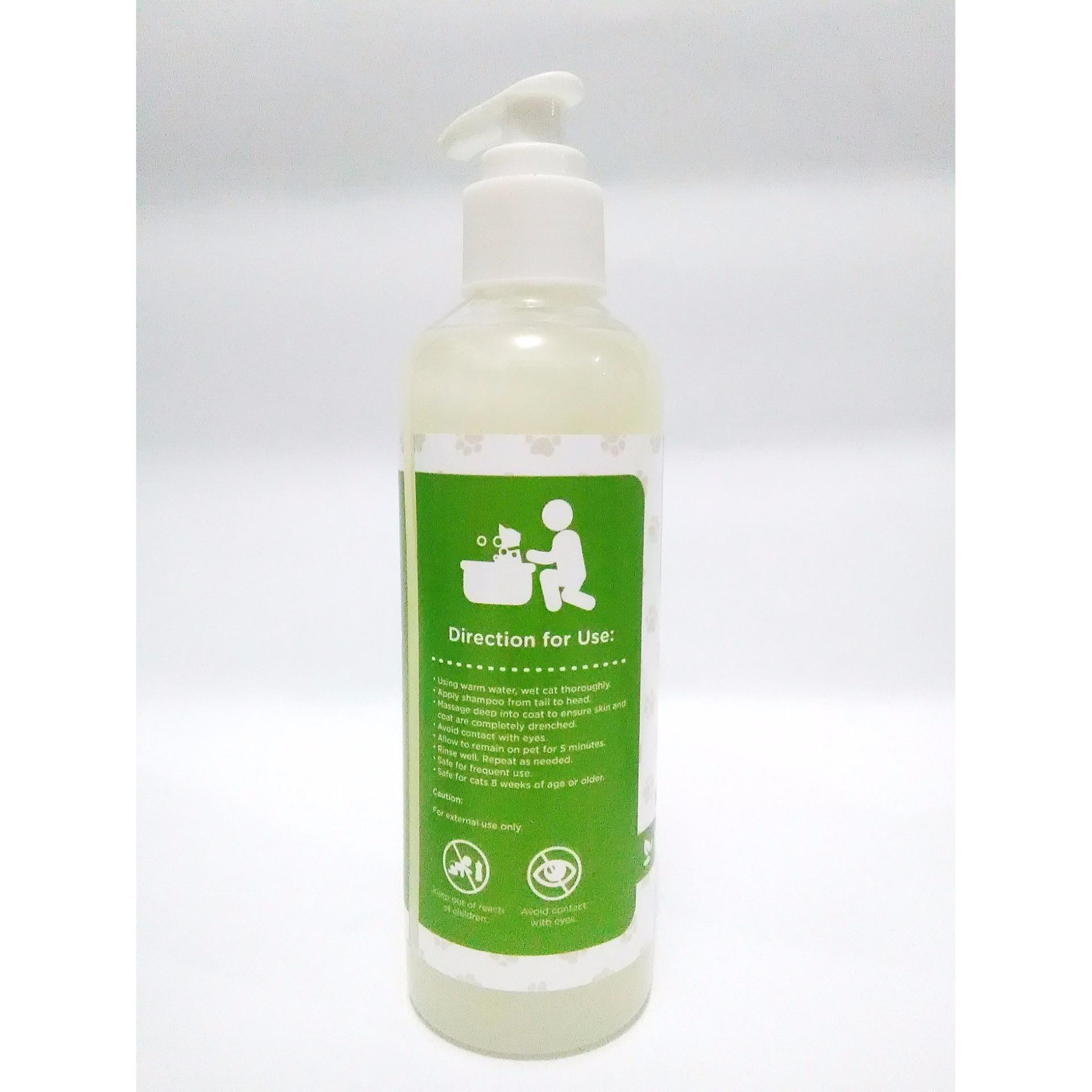 shampoo concentrate healthy cat - natural green tea conditioner