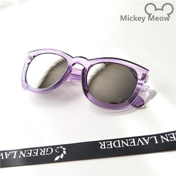 SHININGSTAR Korea Fashion Style transparan ayat yang sama Colorful kacamata hitam