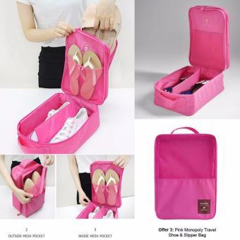 Shoes Pouch / Travel Organizer Bag / Tas Kosmetik / Tas Sepatu /Underwear Organizer 3