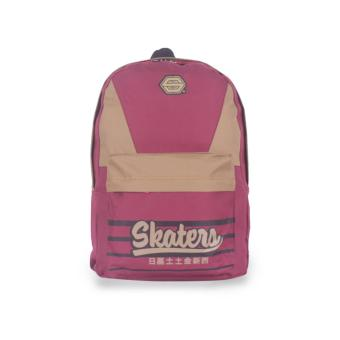 SKATERS 17DSKT-M0412014 COMB BAG 52 MAROON-CREAM