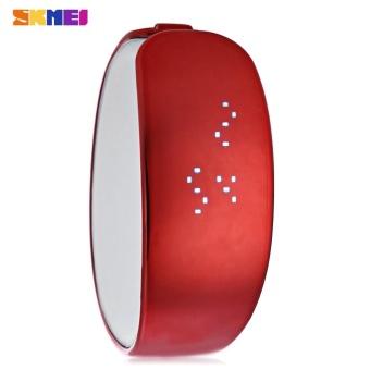 SKMEI 1160 Men Women LED Digital Bracelet Watch Water Resistance Wristwatch - intl