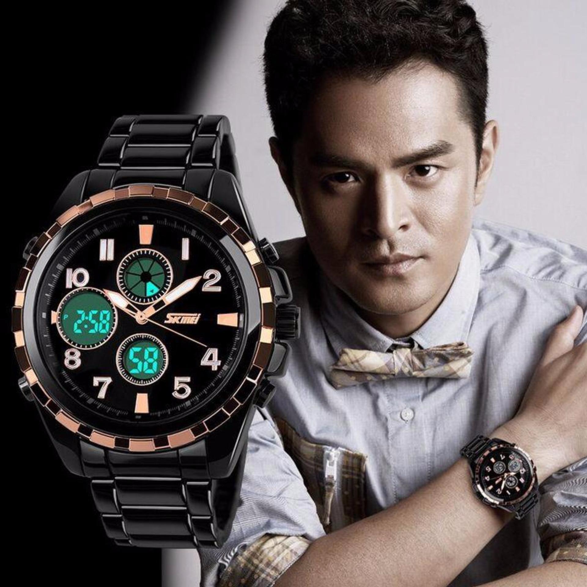 Harga Penawaran Skmei Casio Men Sport Led Watch Water Resistant Anti Jam Tangan Air Pria Wr 30m Tali