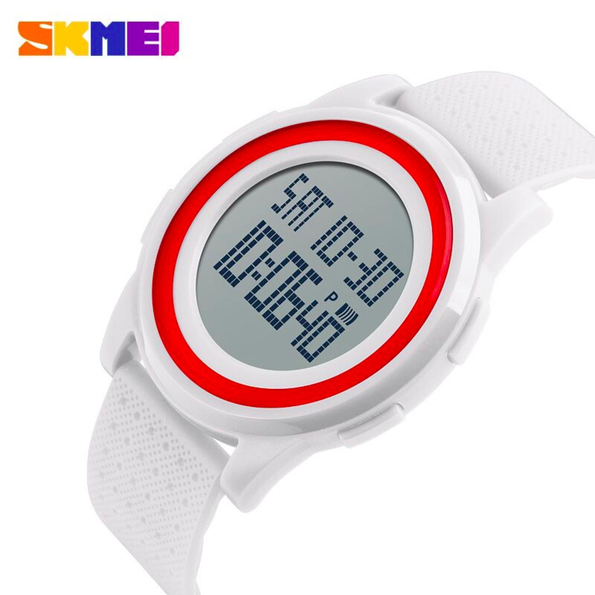 Skmei Digital Sport Watch Water Resistant 50m Dg1206 Jam Tangan Pria Wanita 1206 Thin 30m Black Day Date