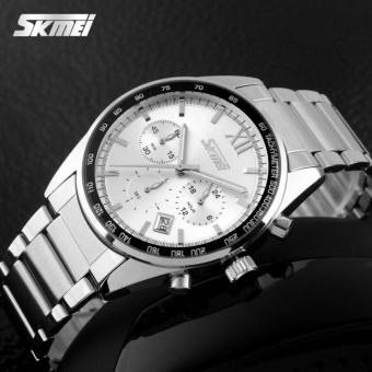 SKMEI Fashion Watch 9096 Original Water Resistant 30M - White