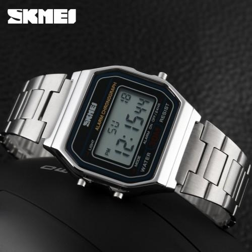 SKMEI Casual Men Leather Strap Watch Water Resistant Anti Air WR 30m 9115CL . Source .