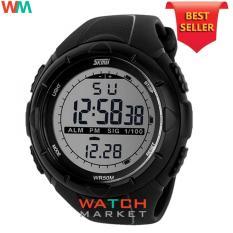 SKMEI S-Shock Digital Sport Watch Water Resistant 50m Jam Tangan Unisex  Tali Rubber Karet 33b345d7a7