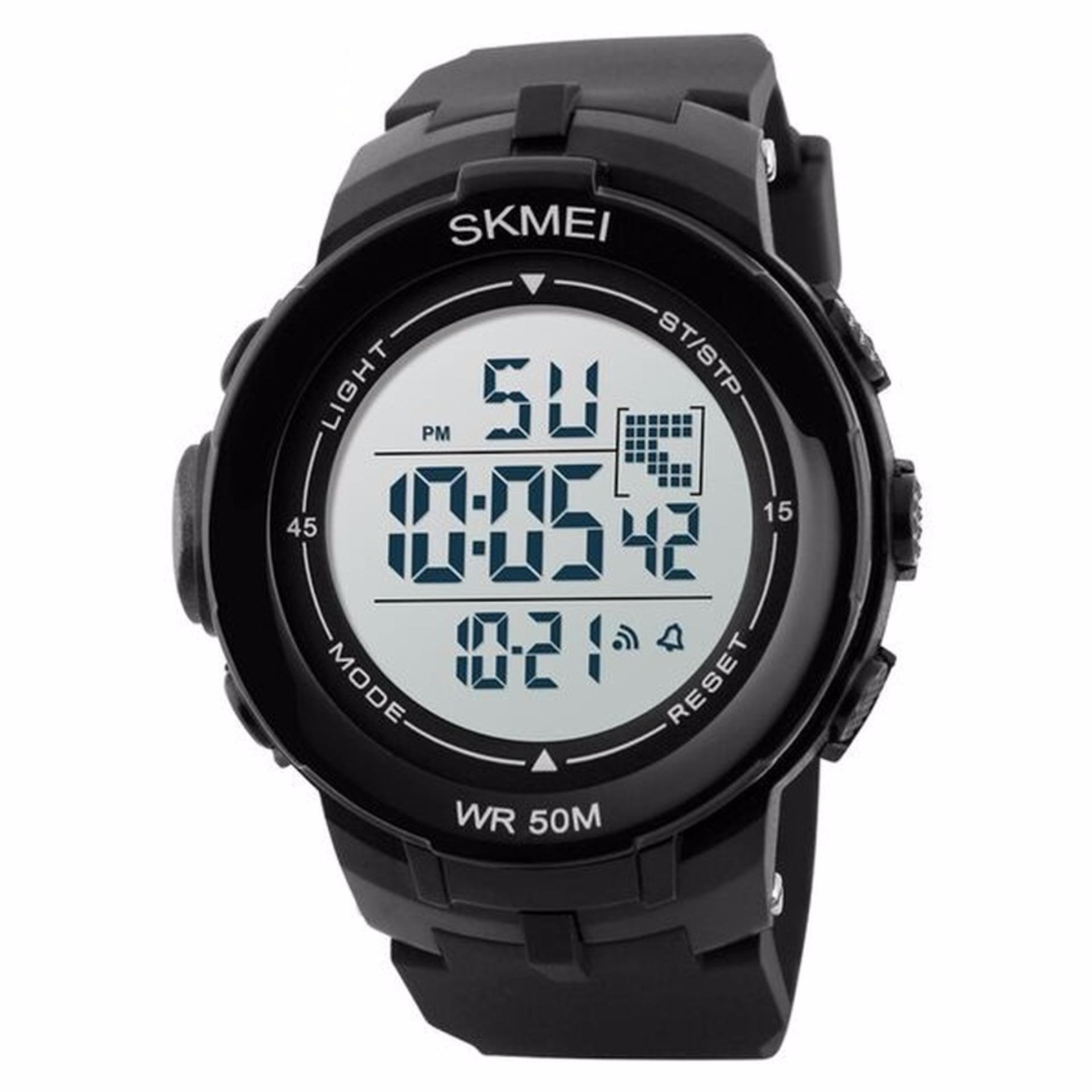 SKMEI S-Shock Sport Digital Men Watch Anti Air Water Resistant WR 50m Jam Tangan ...