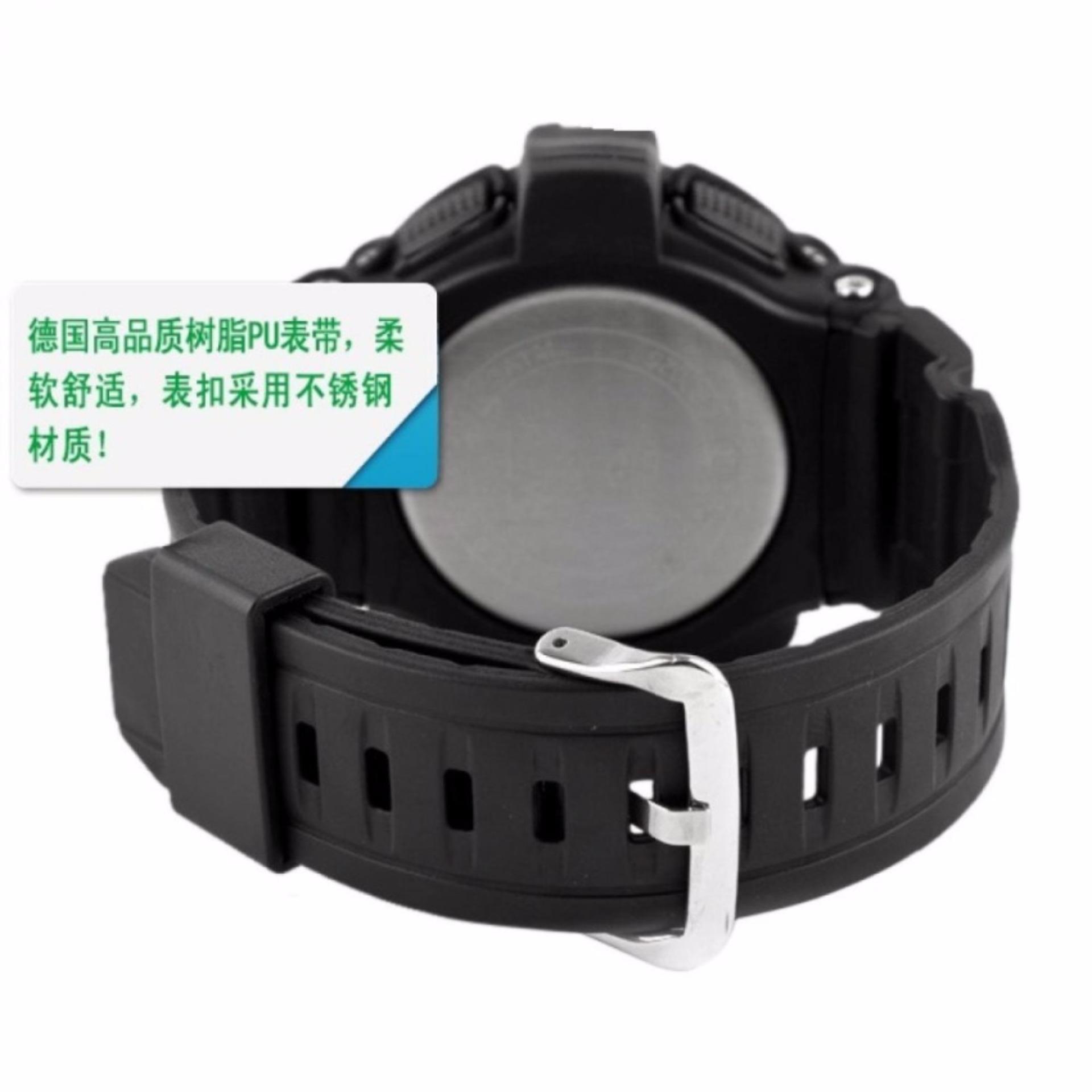 SKMEI Sport Men LED Watch Anti Air Water Resistant WR 50m DG0907 Jam Tangan Pria Tali