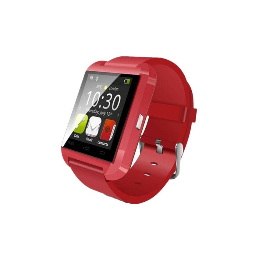 Flash Sale Smart Bluetooth Watch For iOS Android Red - intl