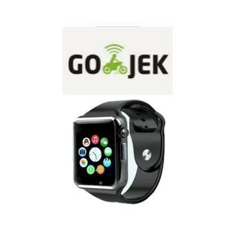 Smart Watch A1 / U10 Camera + Sim Phone + Memori Card ( New ) Biru - B