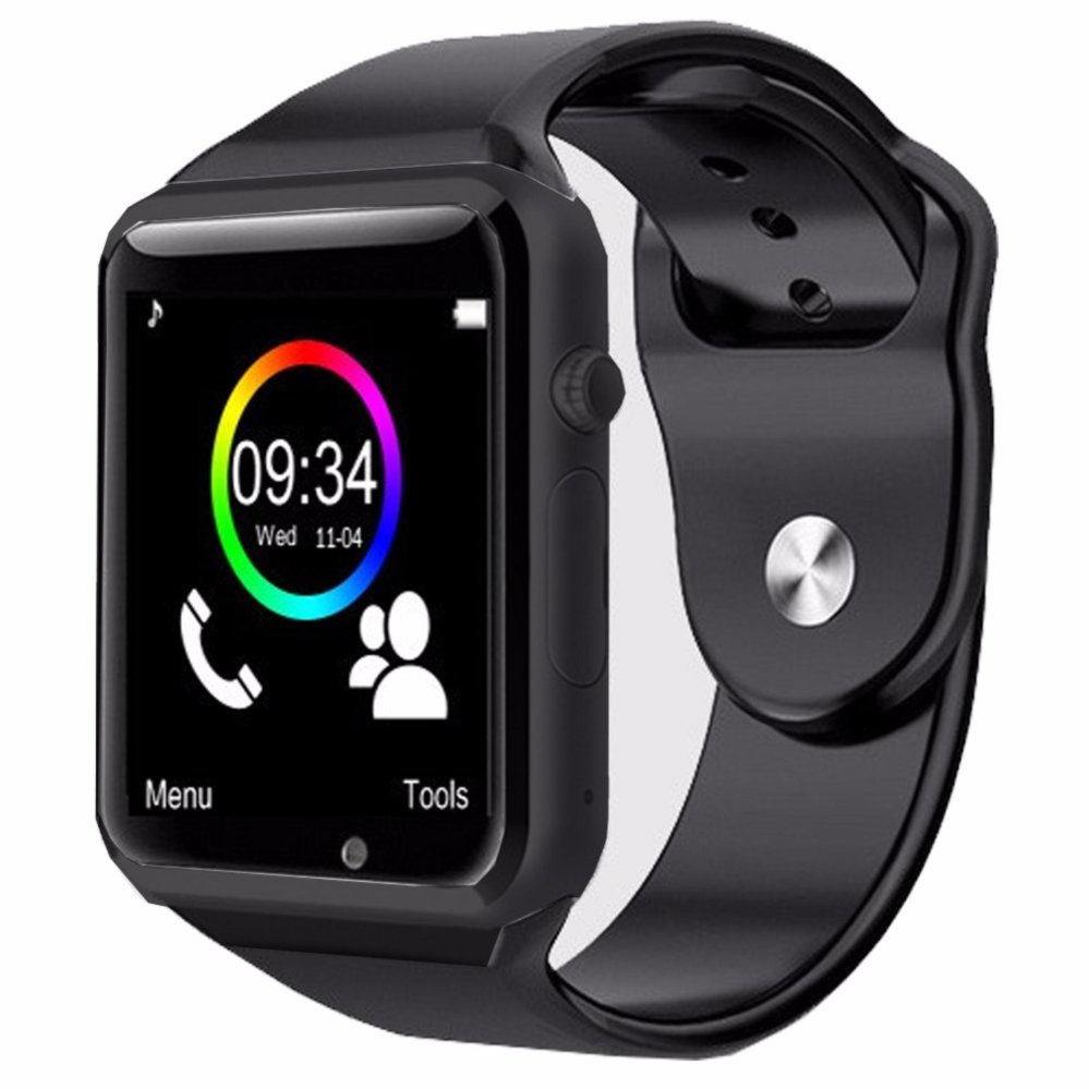 SmartWatch A1 Smart watch With Camera Bluetooth Pedometer Sleep Tracker MP3 Answer Call For Android iOS. Anti-lost