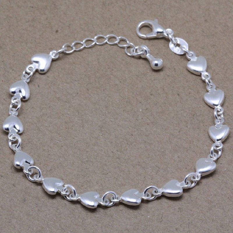 Sporter Vogue Chain Bracelet Silver Plated Jewelry Charm Bracelets Chic Bangles Silver - Intl