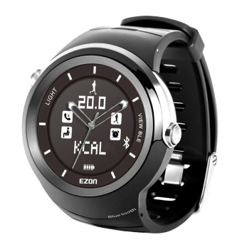 Sprot Watch with Bluetooth Smart Remind Call Reminder Sedentary remind Alarm Clock Motion data management S3A01 Black - intl