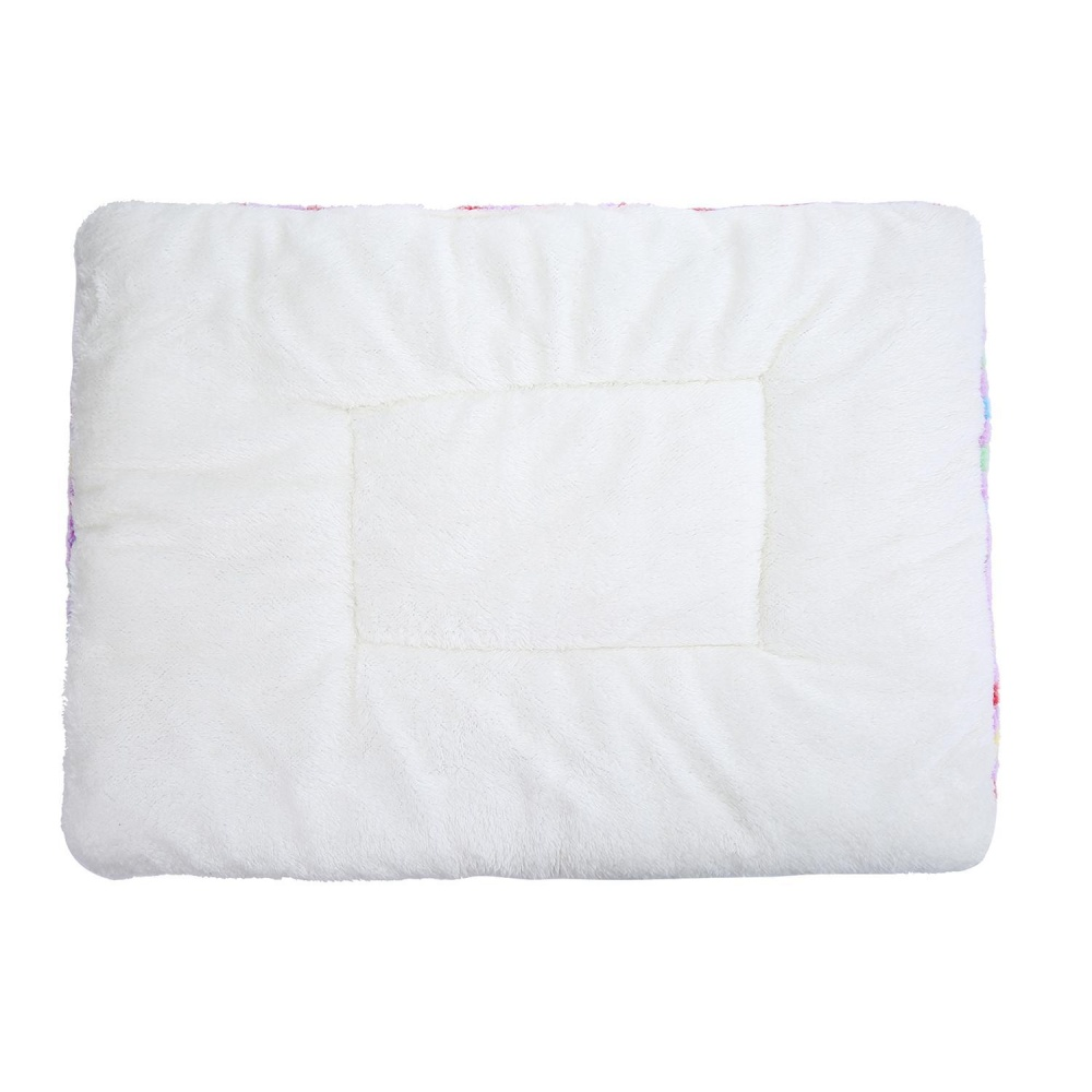 sqamin Pet Dog Sleep Mat Wool Soft Warm Cushion For Cat.(RandomColor.) - intl