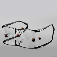 Stallane Fashion miopia bingkai kacamata Optik kacamata bingkai kacamata bisnis aluminium alis Tr90 kacamata untuk pria
