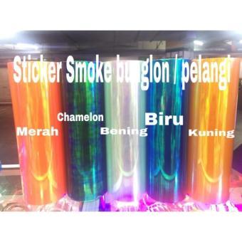 STICKER STIKER SMOKE BUNGLON / PELANGI