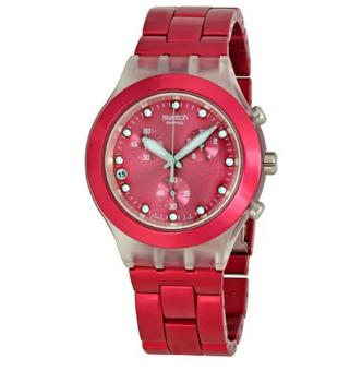 Swatch Men's STSVCK4050AG FW2010 Raspberry Dial Watch - intl