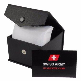 Swiss Army Sa0110m Jam Tangan Pria Stainless Steel Silver - Daftar ... 8fea209803