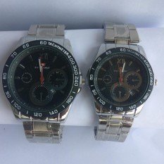 Swiss ARMY - Couple - Stainless Steel - BlacK SILVER - ST985HGF65