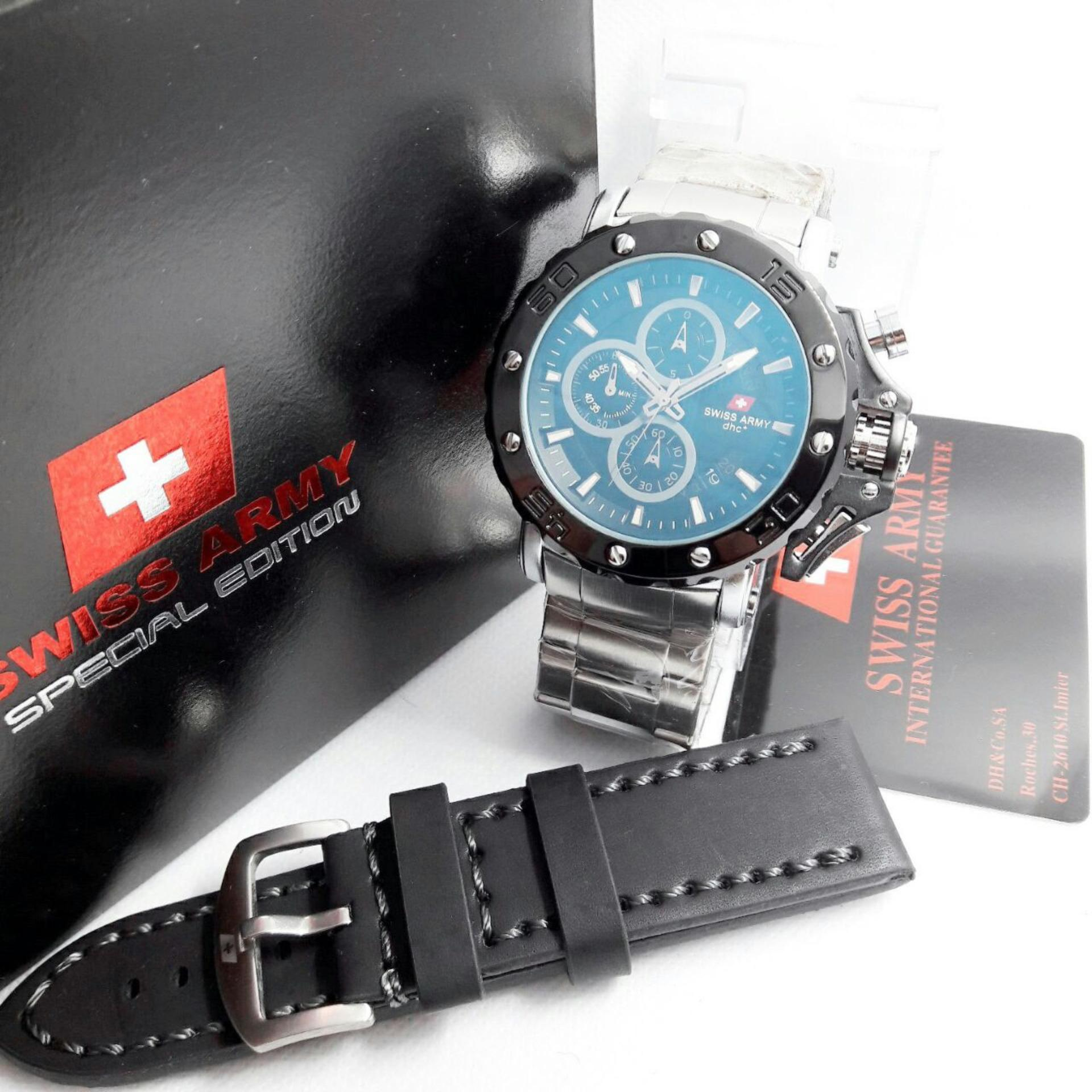 5088 Coup Fb Gld Source Swiss Army Couple Watch Silver Full Stainless Sa. Source ·