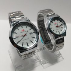 Swiss Army/Time Jam tangan Pria&Wanita (Couple) Tanggal - SA 4499