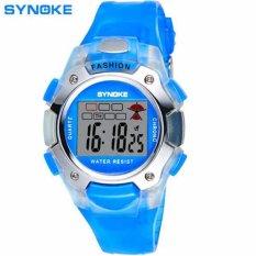 SYNOKE 99329 Jam Tangan Anak Sport Digital  Rubber 37 mm - Anti Air 30 M - Water Resistant Watches