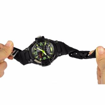 SYNOKE Jam Tangan Pria Olahraga Militer Tahan Air Analog Digital LED Multifungsi Waterproof Sports