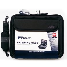 Targus Laptop Carry Bag Notepac CN01V3 Up to 16 inch Tas Laptop Exclusive - Black