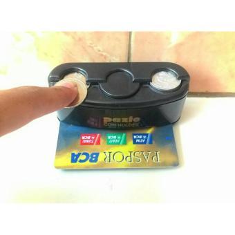 Detail Gambar Tempat koin Tempat coin Tempat receh Mobil Toll Card Holder CarOrganizer Universal Terbaru